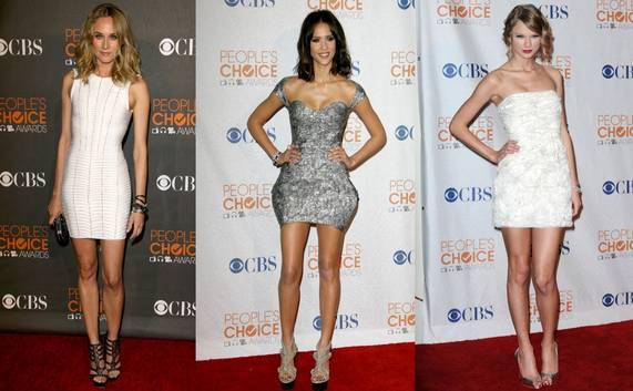 Cel mai bine îmbrăcate vedete la People's Choice Awards 2010