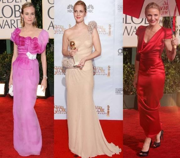 Cele mai frumoase rochii de la Globurile de Aur 2010