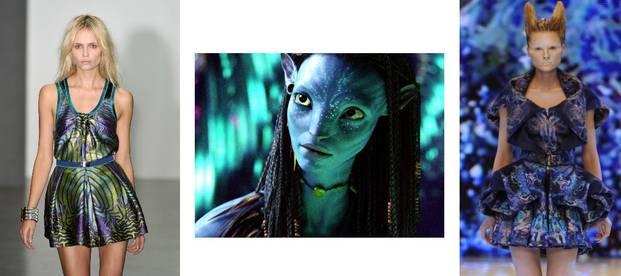 """Vedetele poartă haine inspirate de """"Avatar"""""""