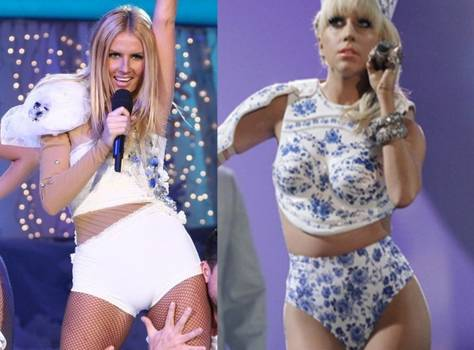 Vedetele autohtone o copiază pe Lady Gaga