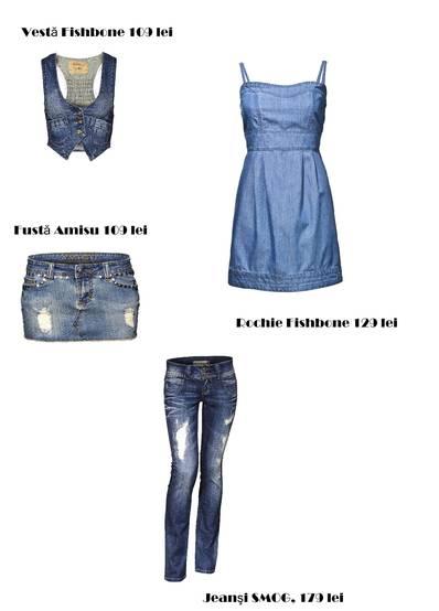 Jeanşii cu aspect uzat revin în modă