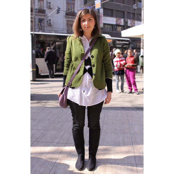 Street Fashion by Unica.ro - Lidia
