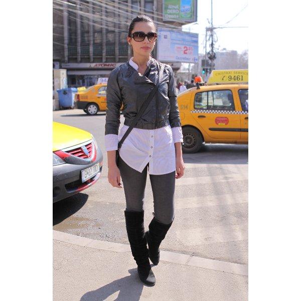 Street Fashion by Unica.ro - Oana