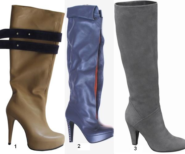Ce pantofi se poartă în toamna 2010