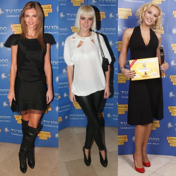 Cele mai frumoase rochii de la premiile TVmania 2010