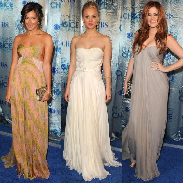 Cele mai frumoase rochii de la premiile People's Choice 2011