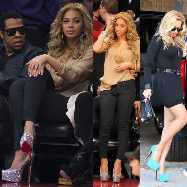 Beyonce adoră pantofii Louboutin. Ţie care îţi plac?