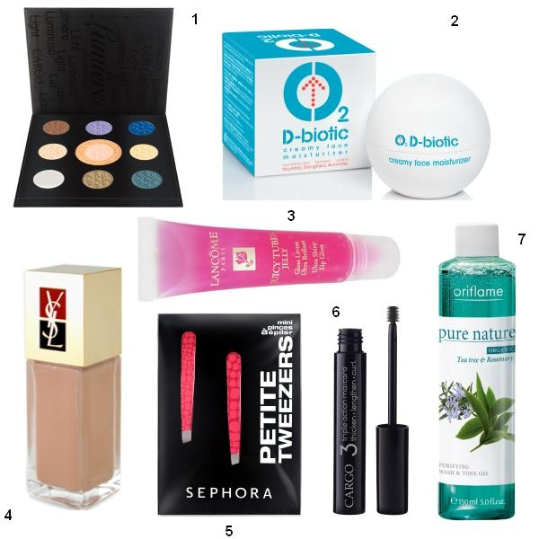 7 produse de make up indispensabile din portfard