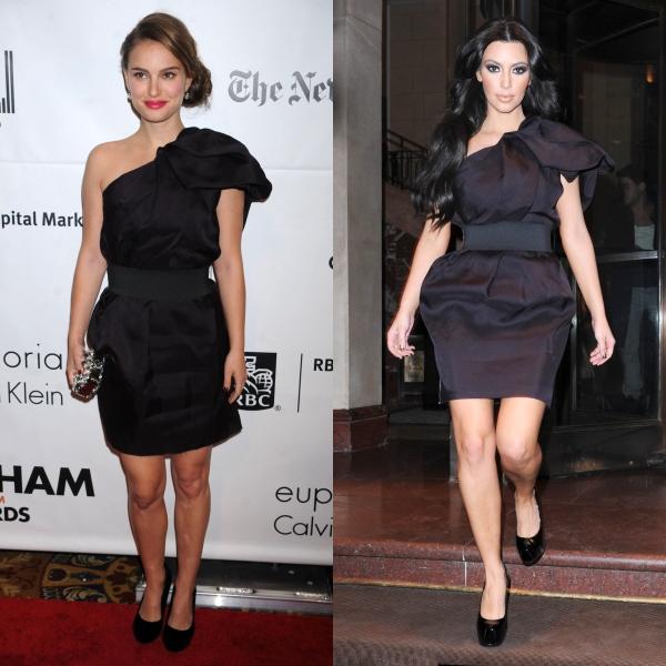 Vedete cu rochii identice. Cine arată mai bine?
