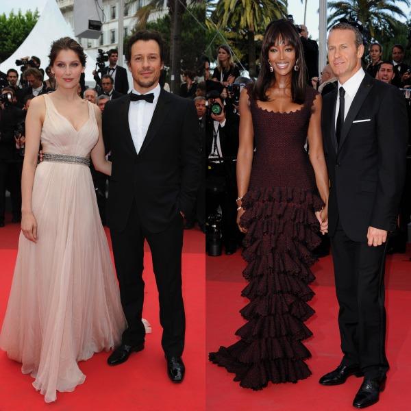 Cannes 2011: cele mai frumoase cupluri pe covorul roşu