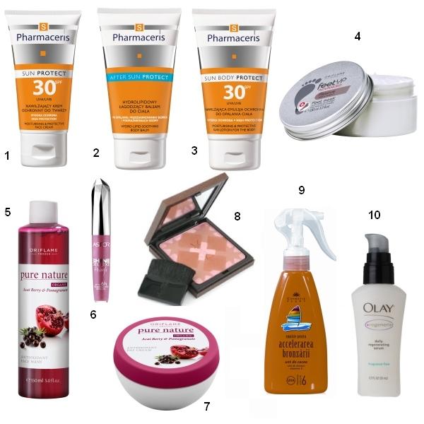 10 produse de beauty ideale vara aceasta!