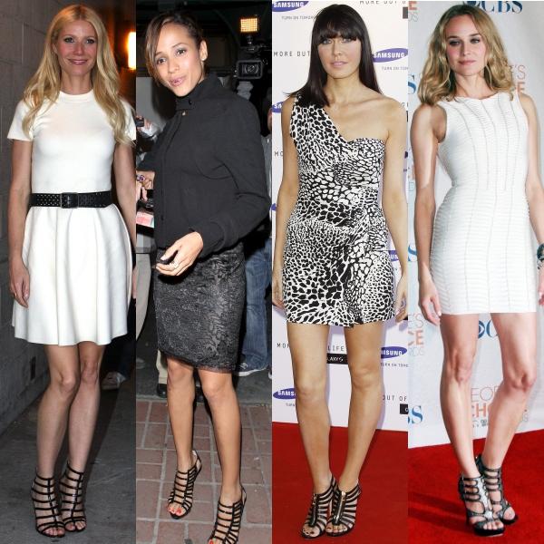 Sandalele cu bretele, o alegere rafinată pentru vara 2011