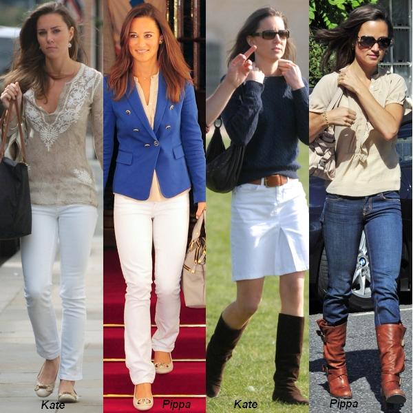 Kate versus Pippa. Care stil îţi place mai mult?