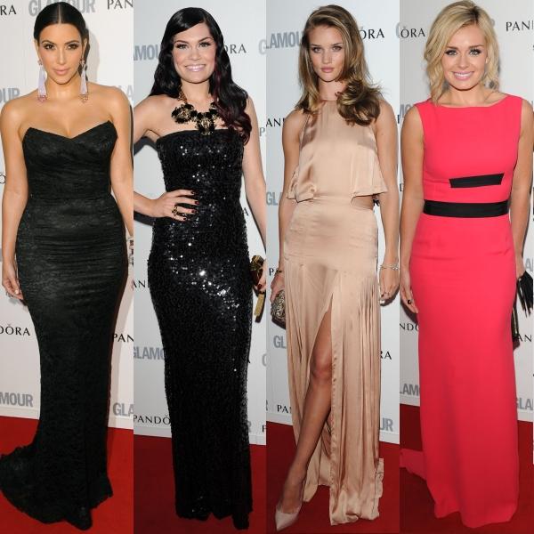 Gala Woman of the Year UK: rochii frumoase pe covorul roşu