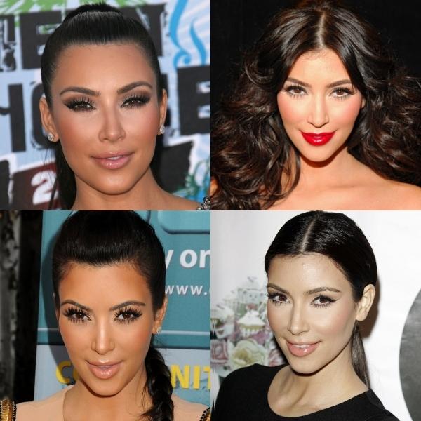 Cum să te machiezi ca frumoasa Kim Kardashian!