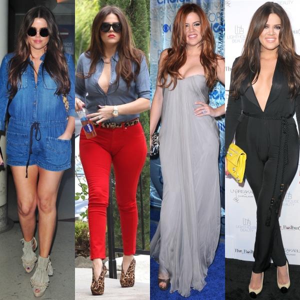 Stilul surorilor Kardashian. Care e fashionista supremă?