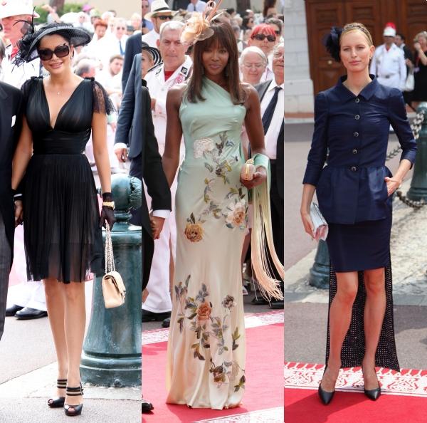 Brigitte Sfăt, Naomi şi Karolina, la Monaco. Care e mai stilată?