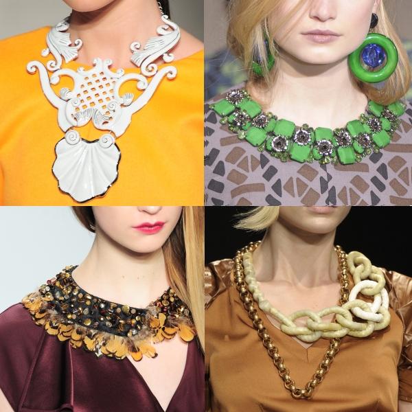 Bijuterii: tendinţe toamnă-iarnă 2011/ 2012
