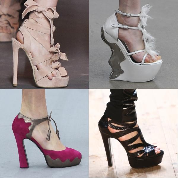 Pantofi: tendinţe toamnă-iarnă 2011/ 2012