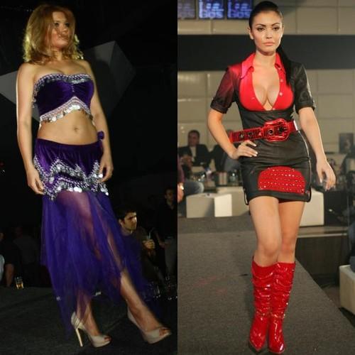 9 vedete care au defilat în prezentări de modă