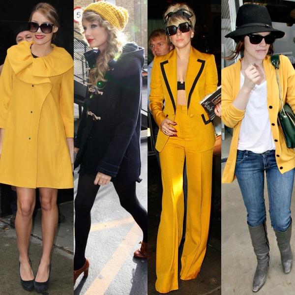 Cum porţi galben muştar. 4 idei stilate!