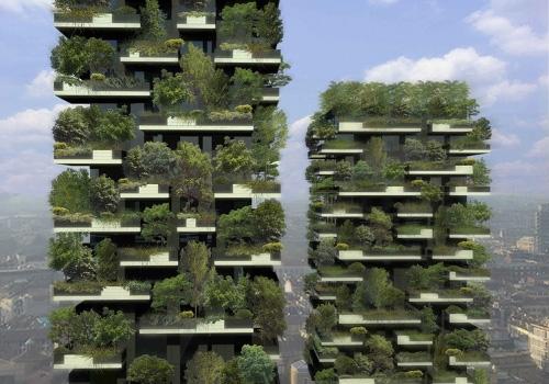 Cum arată prima pădure verticală din lume