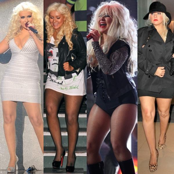 Christina Aguilera şi dezastrele vestimentare din ultima vreme