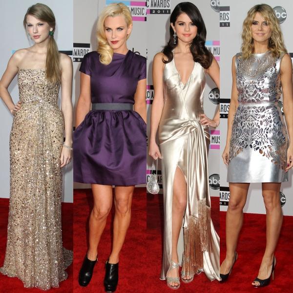 Cele mai frumoase rochii de la American Music Awards 2011