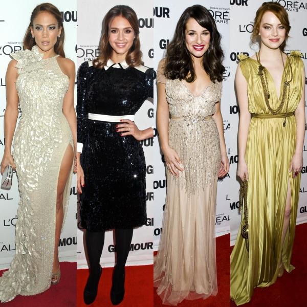 Cele mai frumoase rochii de la premiile Glamour