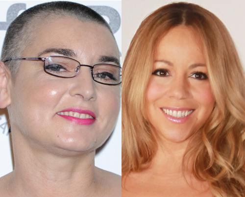 Sinead O'Connor, Mariah Carey