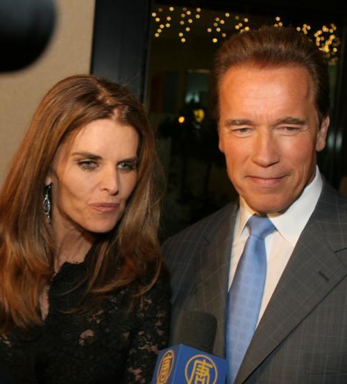 Arnold Schwarzenegger si Maria Shriver