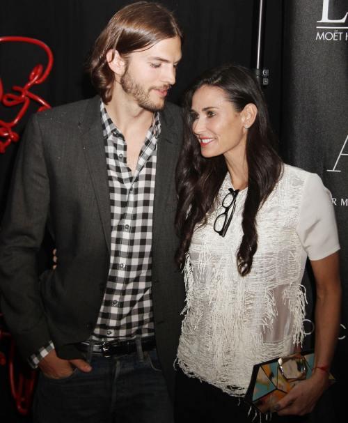 Demi Moore şi Ashton Kutcher