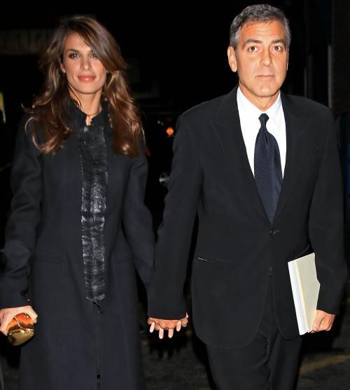 George Clooney şi Elisabetta Canalis