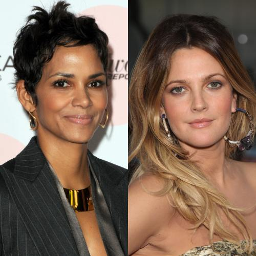 Halle Berry, Drew Barrymore