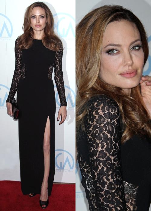 Angelina Jolie, superbă la premiile Producers Guild Awards