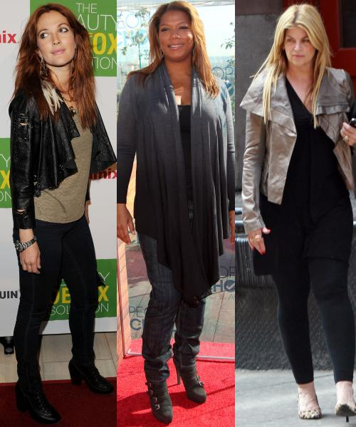 Drew Barrymore, Queen Latifah, Kirstie Alley