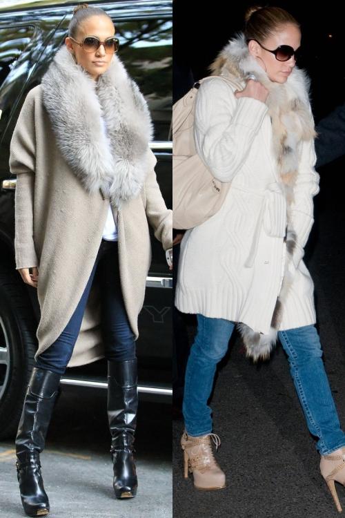 Jennifer Lopez, mai stilată ca oricând! Iată 6 ţinute superbe de iarnă