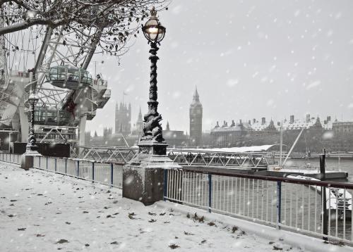 Londra sub zapada