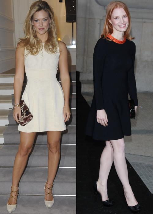 Bar Rafaeli, Jessica Chastain la Saptamana Haute Couture