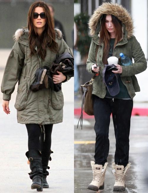 Parka, jacheta care face senzaţie în sezonul rece
