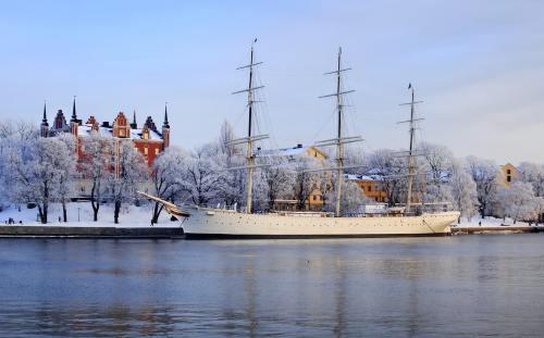 Stockholm sub zapada