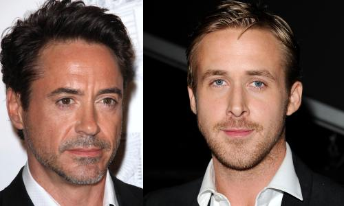 Robert Downey Jr. Ryan Gosling