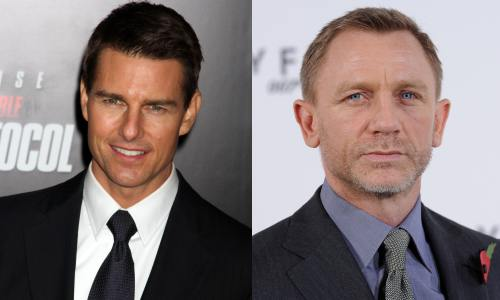 Tom Cruise, Daniel Craig