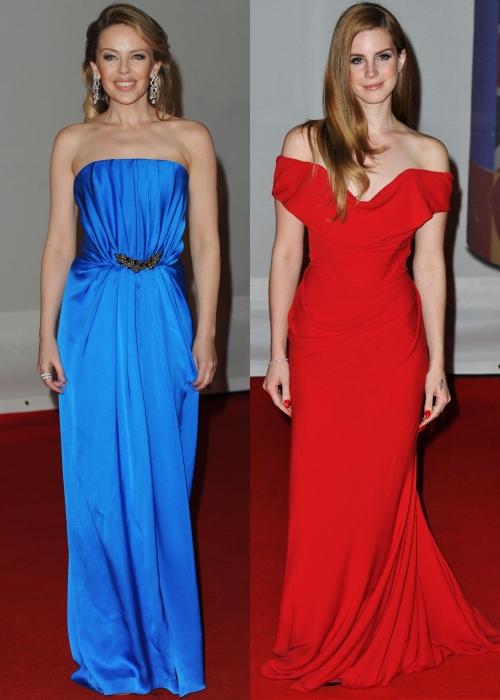 Brit Awards 2012: ce rochii au ales divele pe covorul roşu