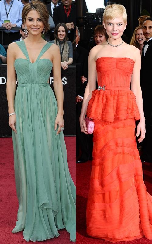 Oscar 2012: cele mai frumoase rochii de pe covorul roşu