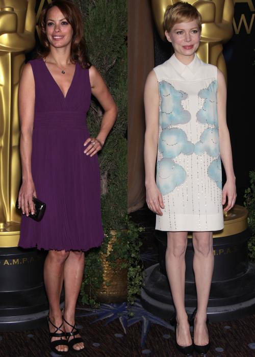Berenice Bejo, Michelle Williams