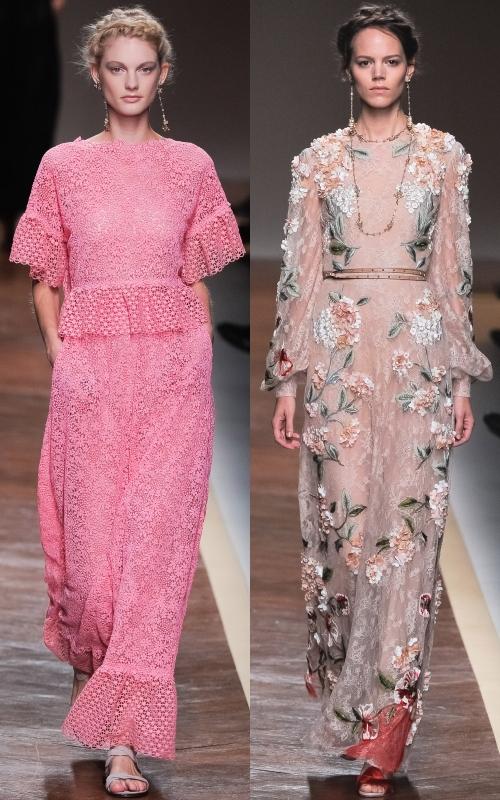 Valentino, colecţia primăvară 2012: rafinament la superlativ