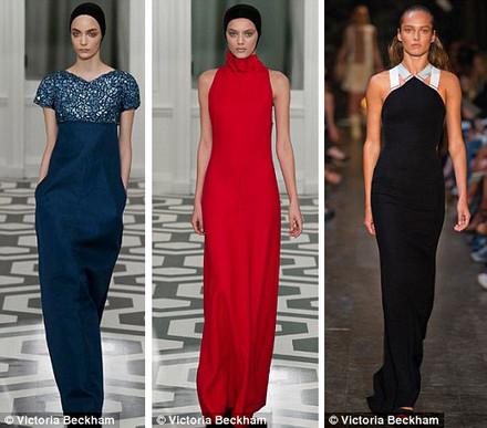 Colecţia Victoriei Beckham la mare cerere pentru Oscar 2012