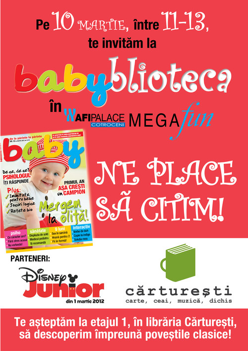 Babyblioteca la Carturesti