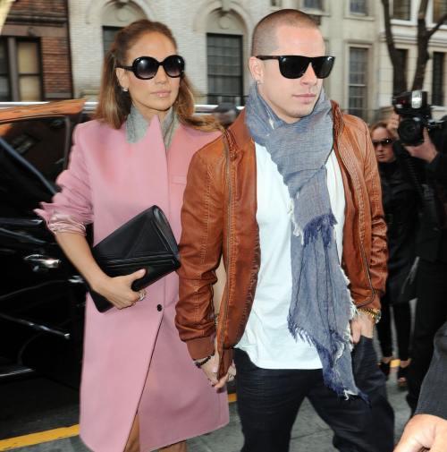 Jennifer Lopez şi Casper Smart